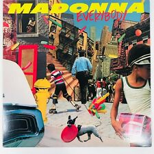 "Madonna Everybody 12"" Maxi Single Vinyl 45 RPM Rare USA First Single"