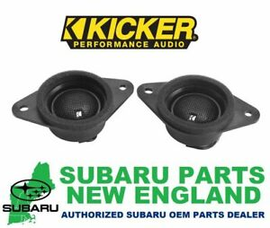 Genuine OEM Subaru Tweeter Upgrade Kit by KICKER H631SFJ101 *1 DAY SALE*