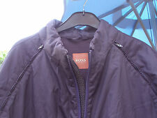 BOSS ORANGE NAVY JACKET WITH REMOVABLE SLEEVES  SIZE XL