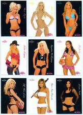 """COMPLETE SET 1-72"" BENCHWARMER SIGNATURE SERIES 2005 KENDRA WILKINSON RILEY"