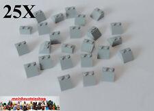 25X Lego® 3039 Basic Dachsteine Slope Roof 2X2 45° neues Hellgrau NEU