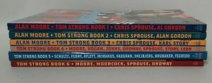 Tom Strong (2000) TPB Complete Collection 1-4 5 HC 6 SC ABC Comics Alan Moore