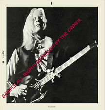 Johnny Winter Lot Of 3 Photos 1967-69 Start Of Fame Set 5x5 & 5x7