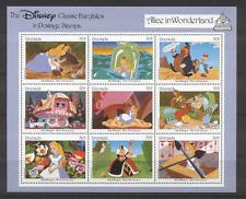 Grenada Disney ALICE/CAT/Moth/Dog sht ref:n12013