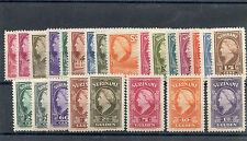 SURINAM  Sc 184-207(MI 241-64)*F-VF LH $450