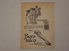 advertising Pubblicità 1956 BOROTALCO ROBERTS