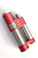Vector Stratos Sparkle Burgundy Single Torch Cigar Lighter