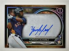 2020 Tribute Auto #TA-YA Yordan Alvarez RC /199 - Houston Astros