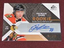07-08 SP GAME USED Patrick Kane ROOKIE EXCLUSIVES AUTO RC 54/100