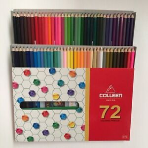 Colleen Neon Best Coloured Pencils Set Art Drawings 72 Colors Coloring Pencil