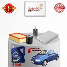 Kit Inspección Filtros Y Aceite Fiat Punto 1.2 44KW 60CV 1994- >