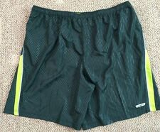 Hind Mens Size XXL 2XL Athletic Running Shorts Green H3M388 Shadow Polyester