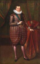 Van Somer James Vi Scotland James I England Giant Wall Canvas Art Print