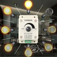PWM Dimmer Controller LED Light Lamp Strip Adjustable Brightness DC 12V-24V