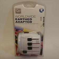 Go Travel Earthed Adaptor One Universal Adaptor Connecting Travelers Worldwide