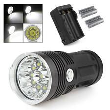 28000LM SKYRAY 11 x CREE XM-L T6 LED Flashlight + 4 x 18650+ Charger US SHIPPING