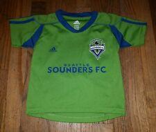 NICE Kids Seattle Sounders FC Rave Green Jersey 2T Toddler Soccer MLS