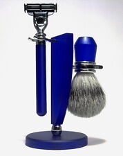 Traumschiff Shaving Set Brush Badger Hair Silvertip Shaver Hans Baier Germany