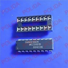 1PCS Audio Power IC SHINDENGEN DIP-18 MCZ3001D + 18P SOCKET 100% Genuine and New