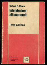 LIPSEY RICHARD INTRODUZIONE ALL'ECONOMIA 1968 TESTI UNIVERSITARI 13