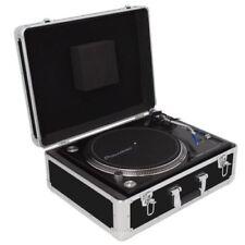 Valises, caisses et sacs platines noirs pour équipement audio et vidéo professionnel