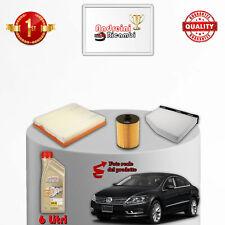Kit Inspección 3 Filtros Y Aceite VW Cc 3.6 FSI 220KW 300CV De 2012- >