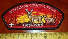 Burlington County Council SA-68 Mylar Woodland Deer 1910-2010 Anniversary CSP