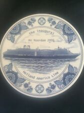 Royal Goedwaagen Blue Delft Holland America Shipping Line Inaugural NOORDAM 2006