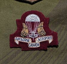 CANADIAN  AIRBORNE REGIMENT OFFICERS CAP BADGE SSF SPECIAL SERVICE FORCE