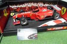 F1 FERRARI F399 1999 IRVINE # 4 SPONSOR MARLBORO 1/18 HOT WHEELS 24629 formule 1