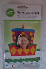 Wilton Celebration Top Photo Cake Topper New Birthday Cakes 213-1604