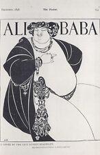 Nostalgia Postcard Ali Baba 1898 Pantomime Advert Illustration Repro Card NS33