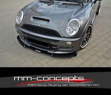 CUP Spoilerlippe TIE BARS Mini Cooper S JCW R53 Frontspoiler Schwert DTM Racing