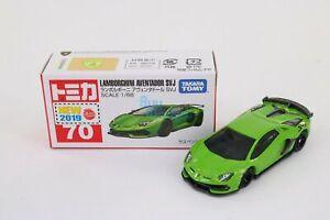 Takara Tomy Tomica #70 Lamborghini Aventador SVJ 1/68 Mini diecast toy car
