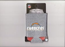 SAN DIEGO CHARGERS SPARKLE  KOOZIE  FREE SHIPPING GOOD STOCKING STUFFER