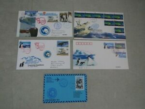 Nystamps PR China Antarctic Research stamp cover collection Rare