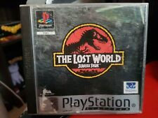 JURASSIC PARK: THE LOST WORLD - Sony PlayStation 1 Complete Game (PS1 PAL)(1997)
