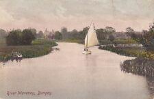 BUNGAY( Suffolk) : River Waveney,Bungay- sailing boat - -SMITH