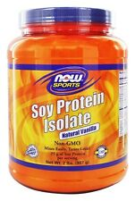 Soy Protein Isolate Vanilla 2 lb by NOW Foods