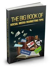 The Big Book of Social Media Marketing PDF eBook with full resale rights!