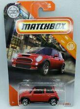 Matchbox 2020 Red 03 mini Cooper S HTF