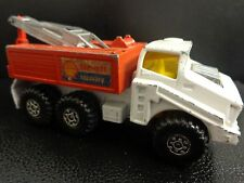 VINTAGE 1975 MATCHBOX BATTLE KING SHELL RECOVERY VEHICLE.