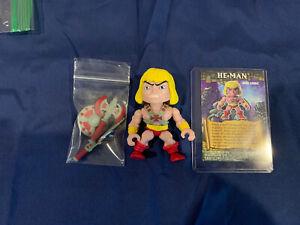The Loyal Subjects Masters Of The Universe Mini Comic Heman Rare