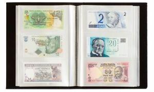 Album simili cuir noir Leuchtturm pour 300 billets de banque (345089)