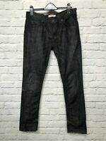 Levis 481 slim fit blacke denim jeans size W31 L32