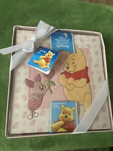 Winnie The Pooh baby photo album book