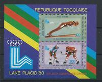 Togo Bloc N°136** (MNH) 1980 - J.O Lake Placid