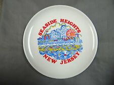 Seaside Heights - New Jersey - Decorative Collector Plate - 3 color - vintage