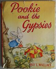 POOKIE'S AND THE GYPSIE'S ~ WINGED RABBIT ~ IVY L. WALLACE ~ 1959 HC/DJ