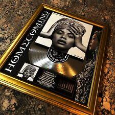Beyonce HOMECOMING Million Record Sales Music Award Disc Album LP Vinyl